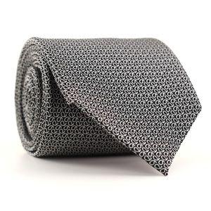 Charles Tyrwhitt Silk Tie Gray/Black Paisley